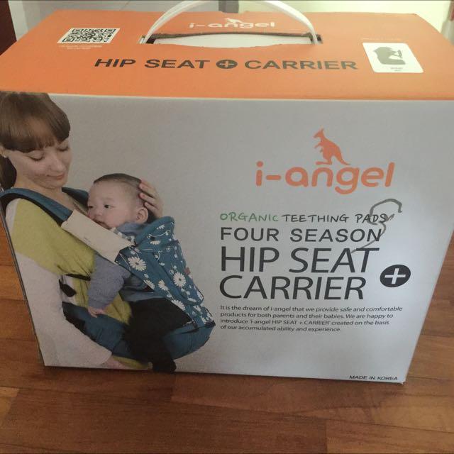 deb3c52401b Preloved i-Angel Irene Hipseat + Carrier (WINE Color) For Sale ...