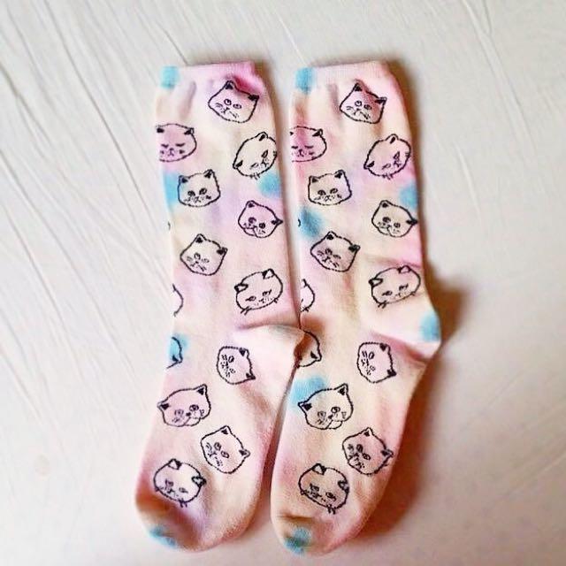 UNIF 貓咪襪