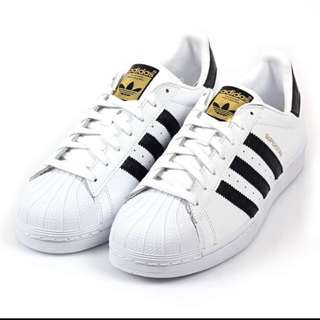 Adidas Originals 黑白金標 台灣公司貨 保證正品 22-30cm