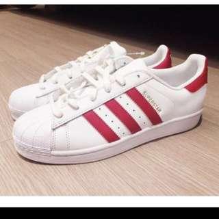 Adidas Originals 桃紅標 台灣公司貨 保證正品 22-30cm