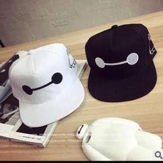 全新-大英雄天團-超夯帽子(黑/白)