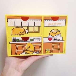 補貨含運🔔全新蛋黃哥收納盒