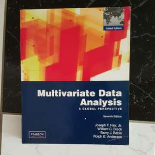 Multivariate Data Analysis 7th Edition