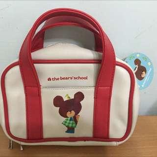 🇯🇵小熊學校化妝旅行包