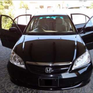 (Civic 1.8 2007) Rental Car Cheap Monthly Rent