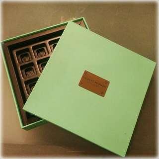 Laurent Bernard Chocolatier Box For Sale