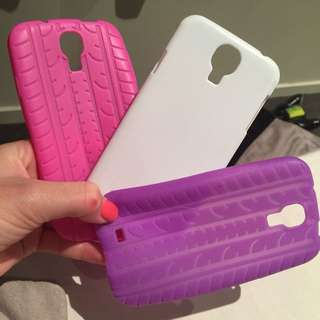 3 X Samsung Galaxy S4 cases