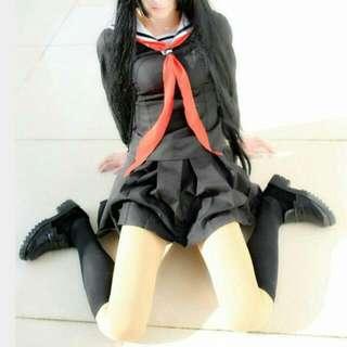 全新-黑色水手服(便宜賣)