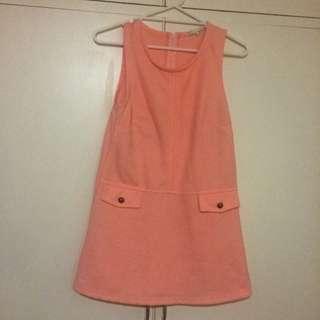 Super Cute Peach Day Dress