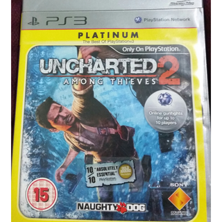 UNCHARTED 2: AMONG THIEVES (PLATINUM EDITION) -PS3