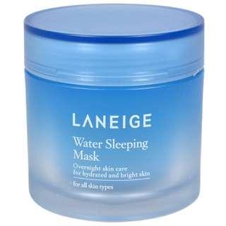 (降)蘭芝 laneige 升級版睡美人超保濕晚安面膜