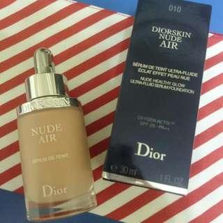 Dior NUDE Air 粉底液30ml (010色號)