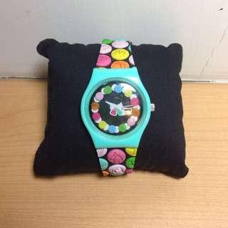 🚚 美國帶回 Paul Frank 彩色點點 超可愛手錶 9.5成新