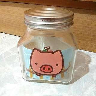 Zakka Cute Small Piggy Jar
