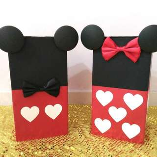 Wedding Ang Bao Box Mickey & Minnie