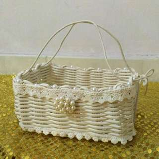 Flower Girl Basket (Wedding)