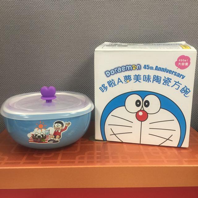 7-11 哆啦A夢美味陶瓷方碗