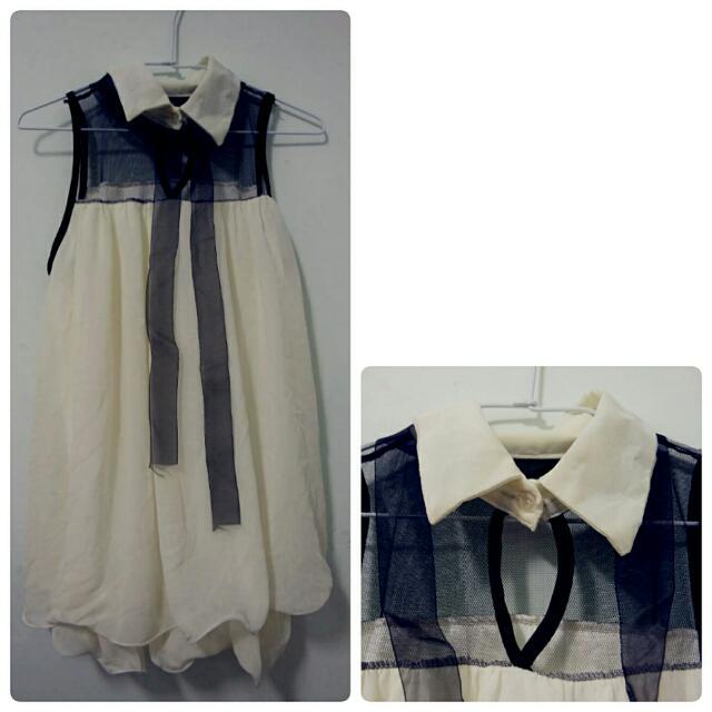 【二手衣物】小洋裝(白色)