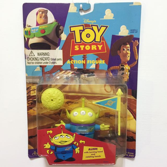 玩具總動員 三眼怪 絕版 吊卡