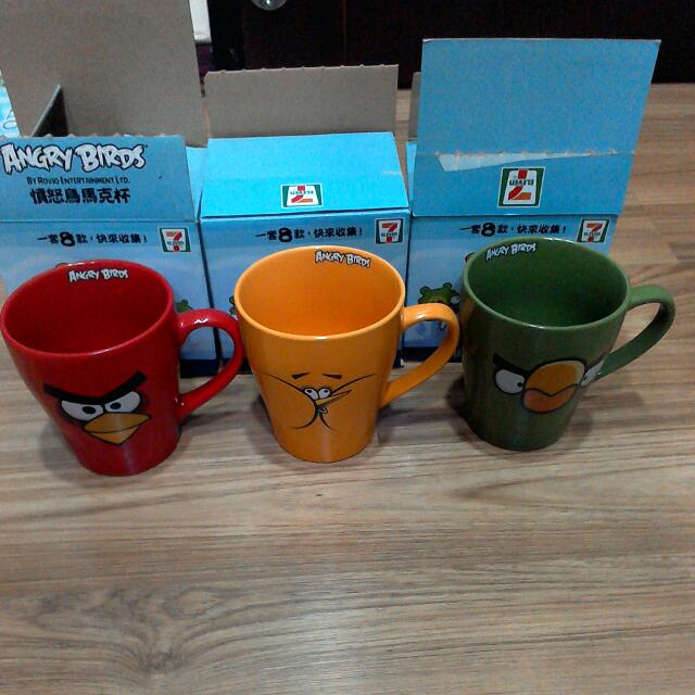 憤怒鳥馬克杯 , 杯子 , Angry Birds