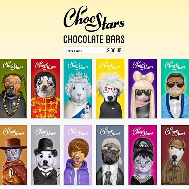 #代購  來自法國ChocStars 牛奶巧克力🍫