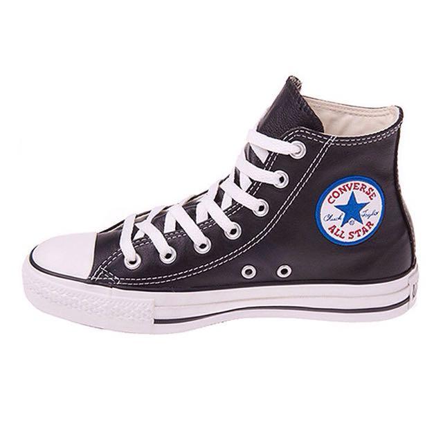 全新 Converse All Star Leather 荔枝皮 布標