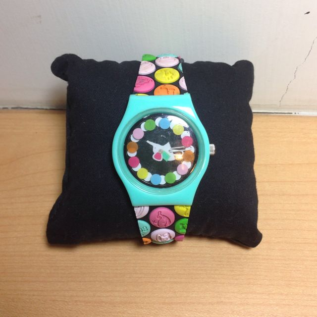 美國帶回 Paul Frank 彩色點點 超可愛手錶 9.5成新