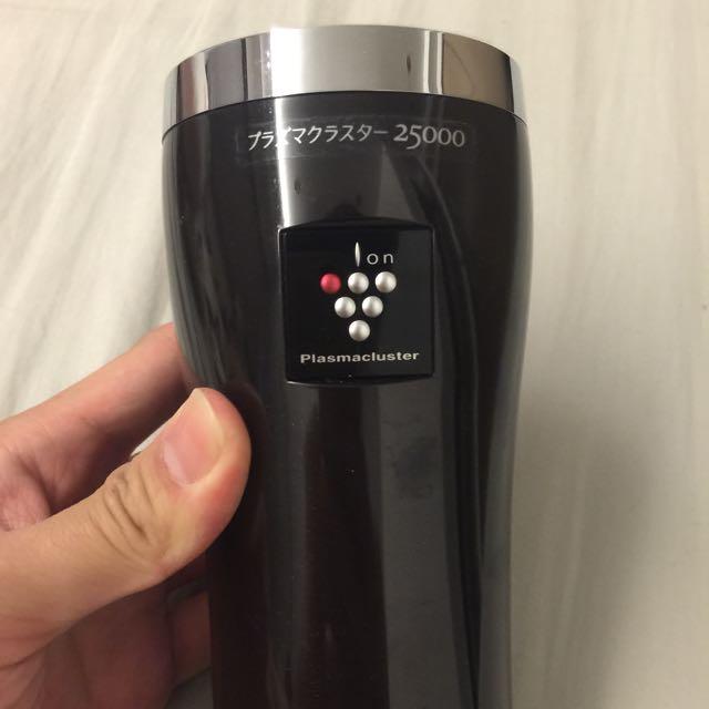 日本 最新款sharp車用空氣清淨機 (二手)