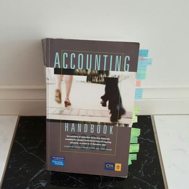 Accounting Handbook 2008