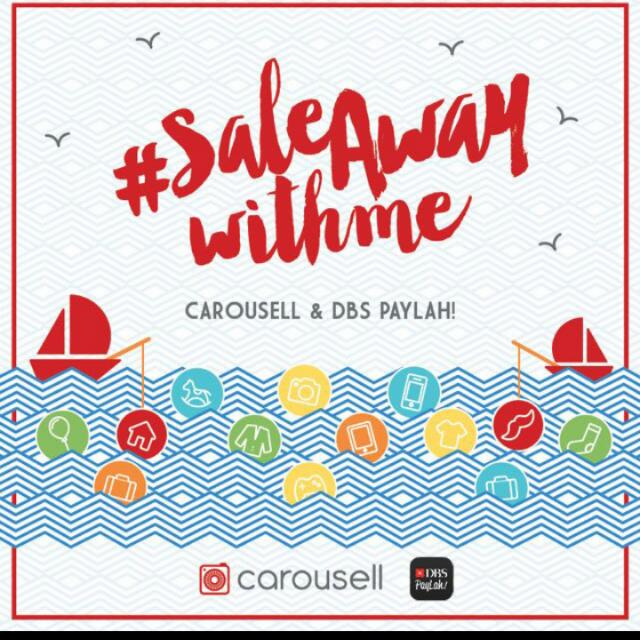 DBS Sale Away With Carousell Event