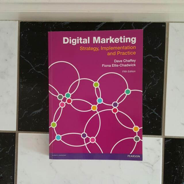 Digital Marketing Strategy, Implementation And PRACTICE 5th Edition