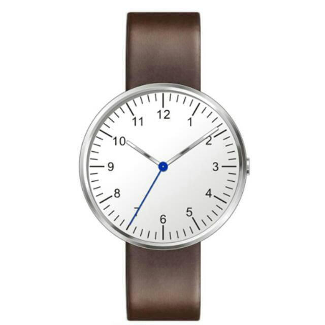 Independent Mono Causal Leather Watch