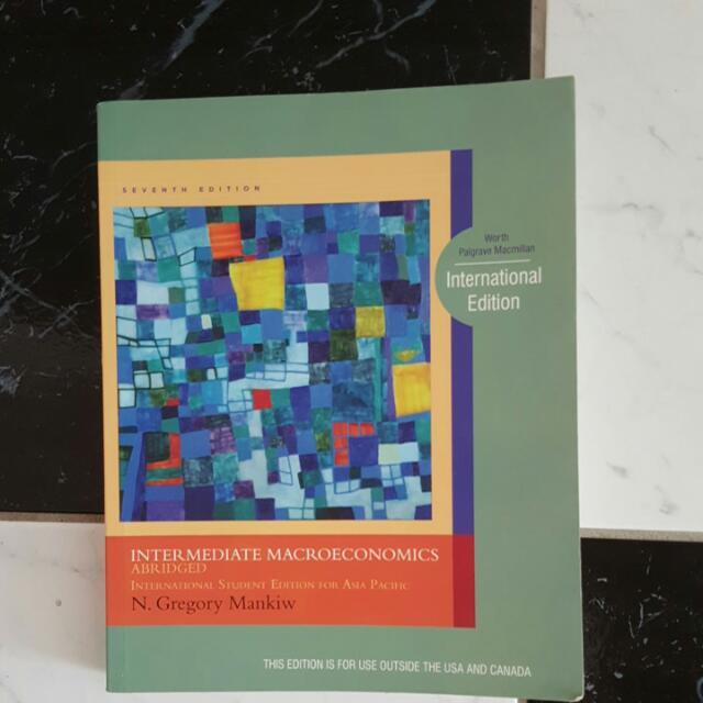 Intermediate Macroeconomics 7th EDITION