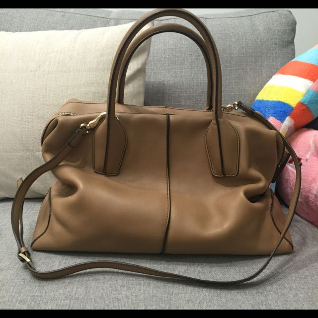 203735b4d60 Like New Authentic Tods D Bag Bauletto - Large, Luxury on Carousell