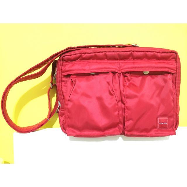 Porter包 - 紅色尼龍(正品)