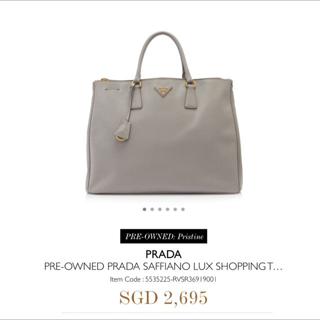 ... new style prada saffiano lux tote bag luxury on carousell 94c4b 588e7 759574b1612ae