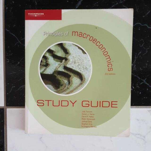 Principles Of Macroeconomics Study Guide 3rd Edition