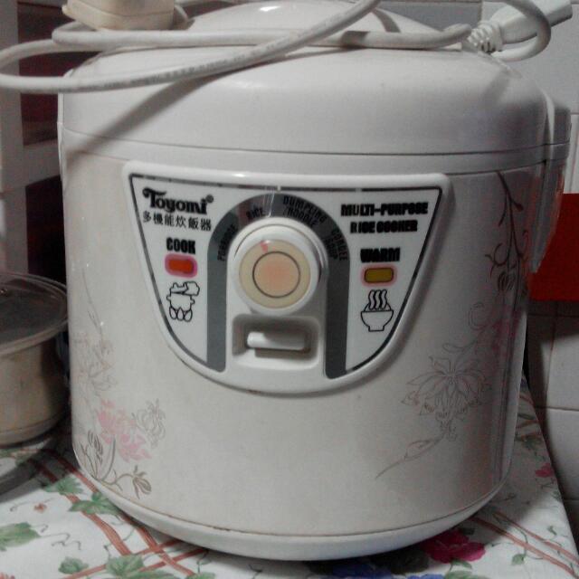 Toyomi Electric Rice & Porridge Cooker 1.8L