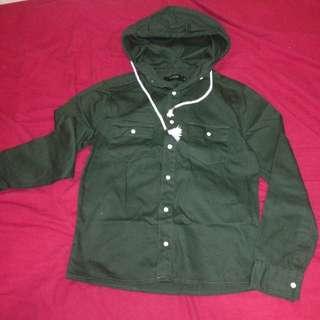 秋款軍綠外套