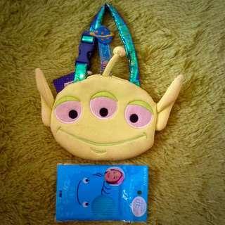 💫迪士尼 三眼怪 零錢包/ 裝飾品 /玩具