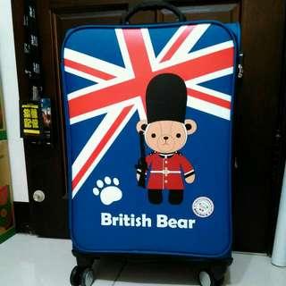 全新英國熊24吋行李箱