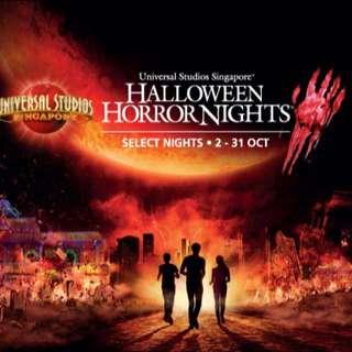 Halloween Horror Nights 5 PEAK tickets