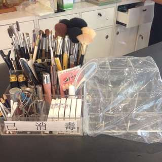 筆刷分類盒 美容乙級丙級可用