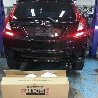 Special Promotions For 2017  EXHAUST SYSTEM FOR NEW Honda Fit GP,GK  Model