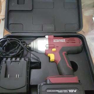 18 volt Cordless Impact Wrench
