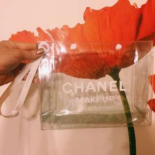 Chanel透明小包