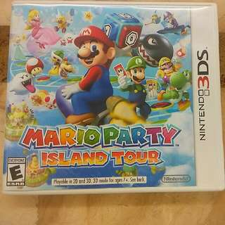 Mario Party Island Tour For 3DS
