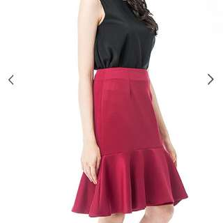 3 For RM50 BMWT The Blush Inc Red Skirt