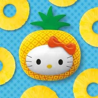 《全新》麥當勞KITTY抱枕-陽光鳳梨