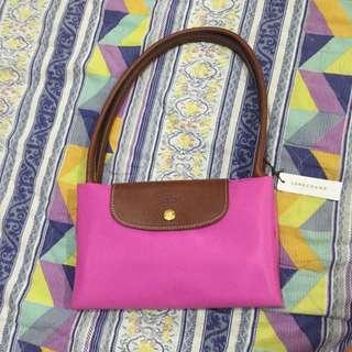 降! Longchamp桃粉色大 基本款